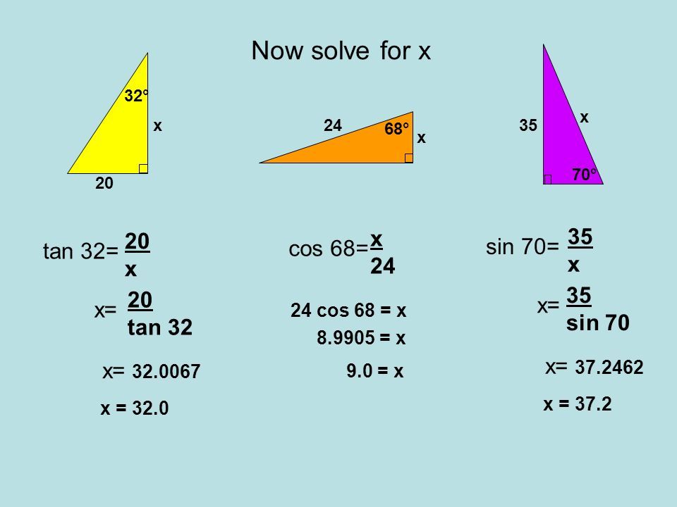 A B C Warm UP What side is The hypotenuse? What side is opposite ...