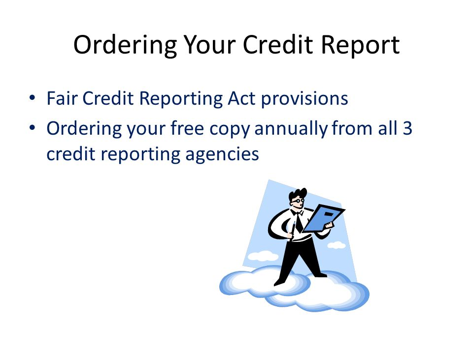3 Credit Reporting Agencies >> Realizing The American Dream Ppt Download