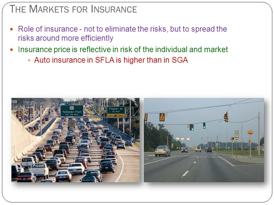 The Markets for Insurance