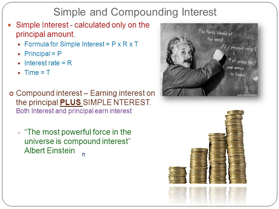 Simple and Compounding Interest