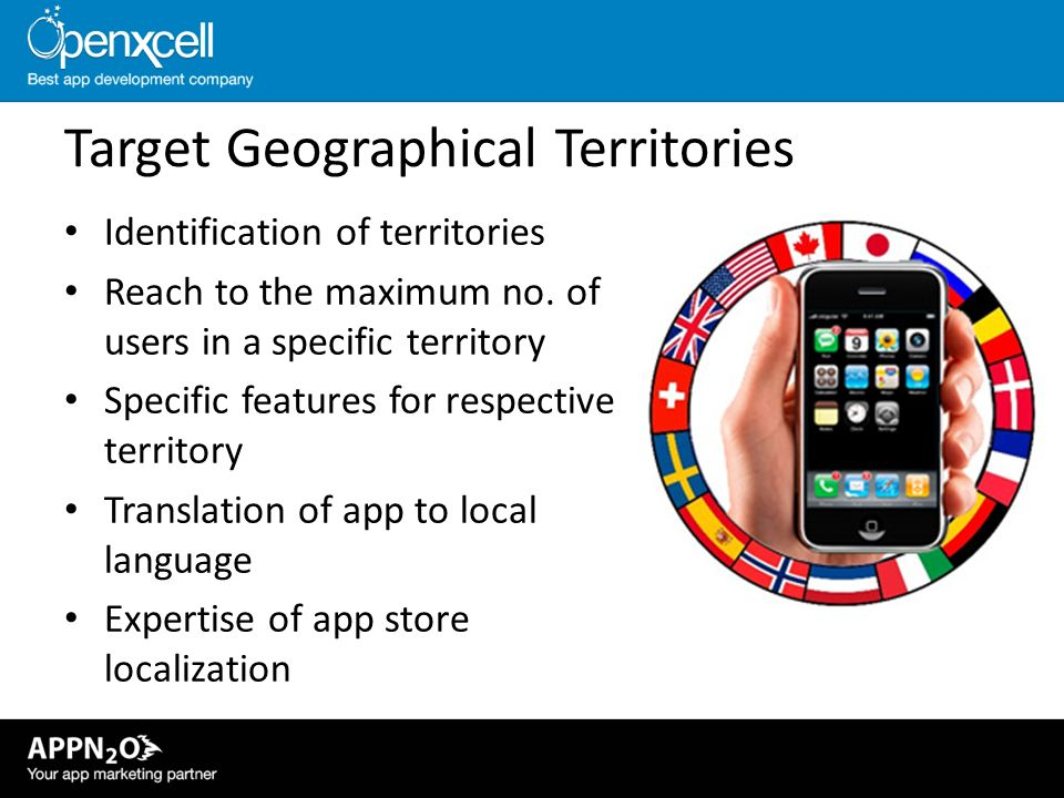 Target Geographical Territories