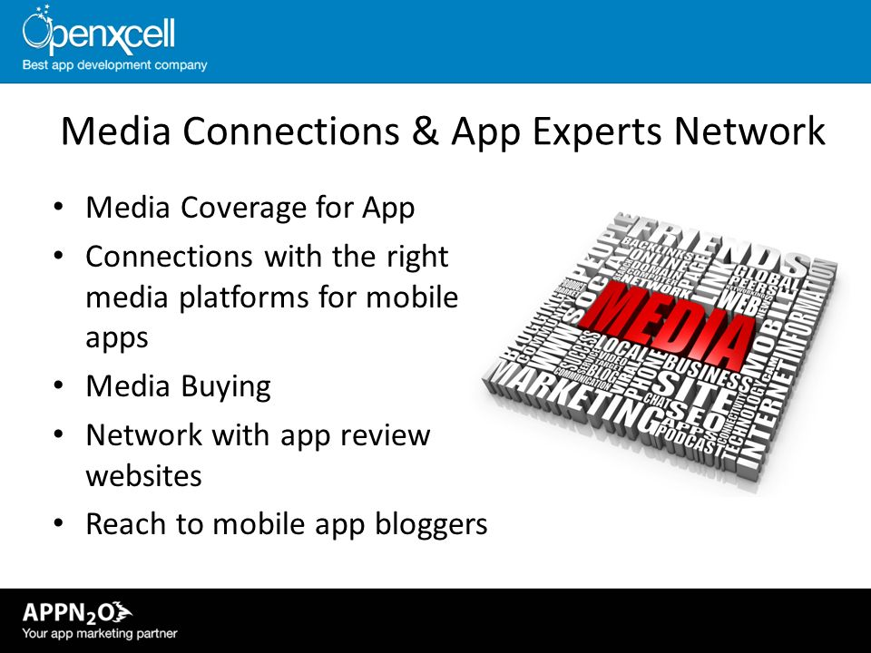 Media Connections & App Experts Network
