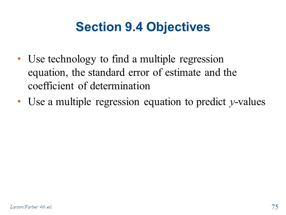 how to use the regression equation in excel