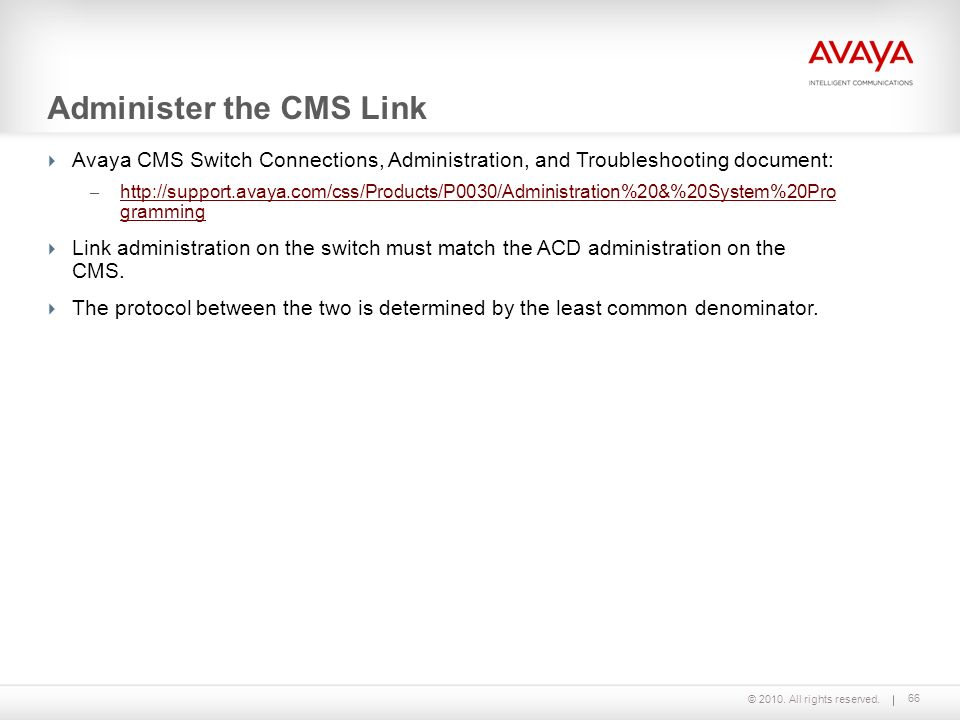 Call Management System Installation and Maintenance - ppt