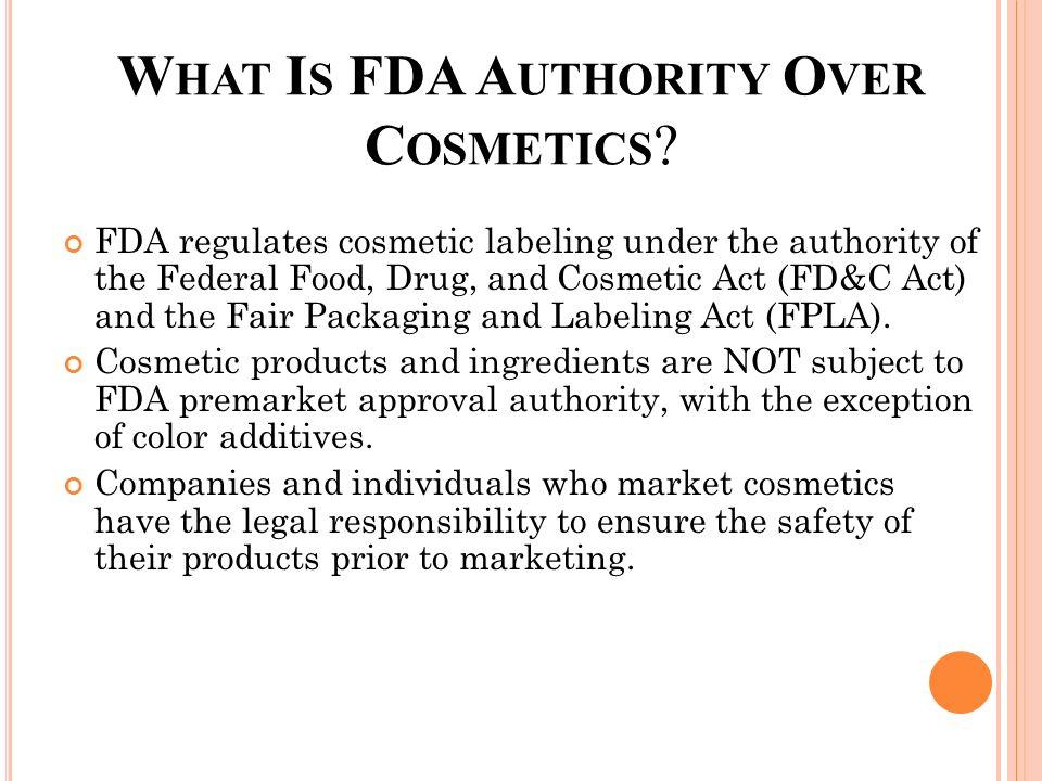 U S  Food and Drug Administration - ppt download