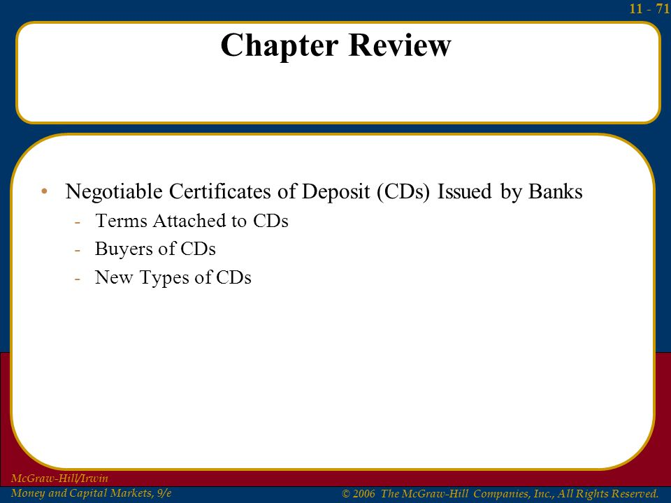 Chapter 11 Commercial Banks, Major Corporations, and Federal Credit ...