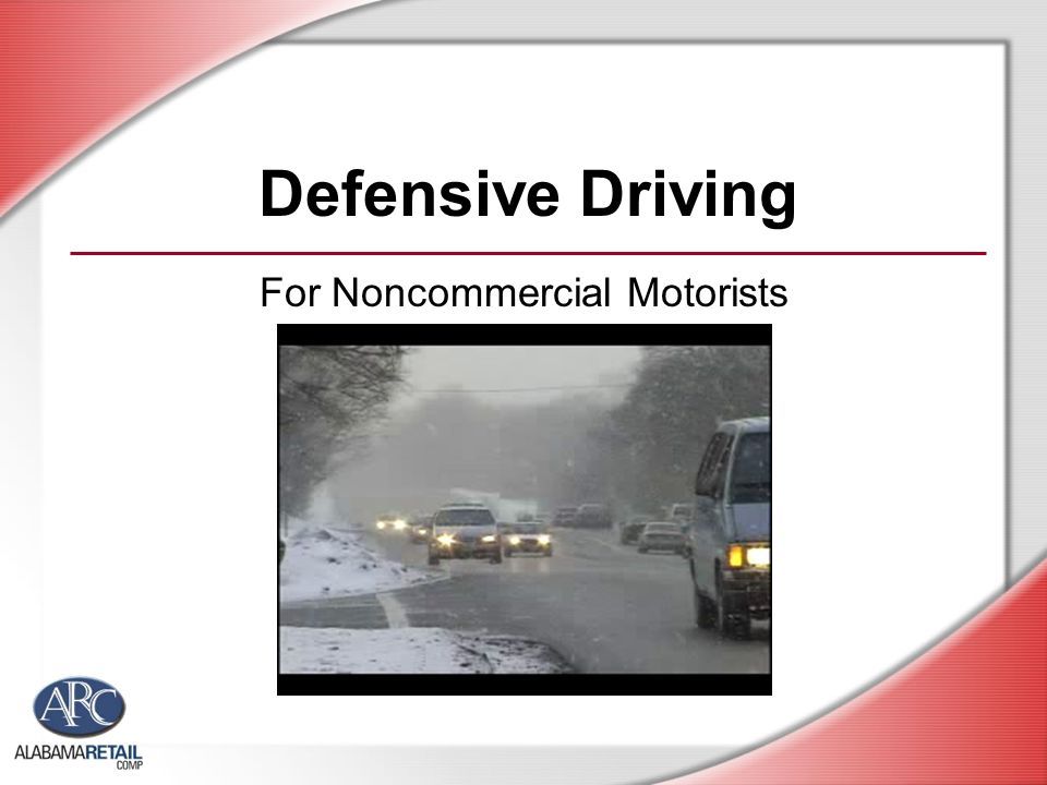 For Noncommercial Motorists