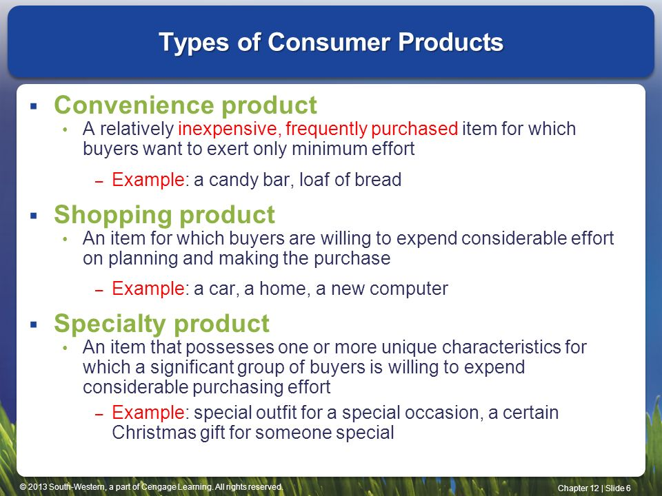 In groups of 2-3, students will research a consumer product.