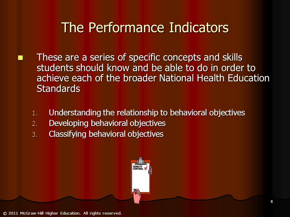 The Performance Indicators