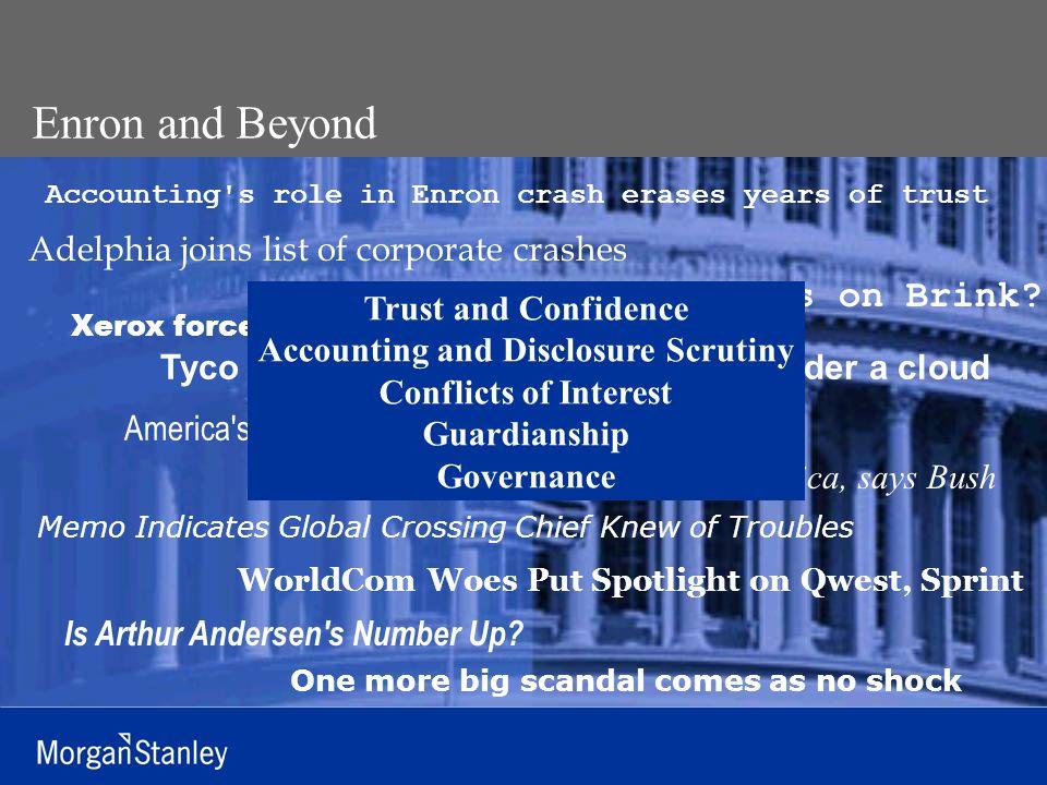 Shelley Leibowitz, Morgan Stanley Managing Director and