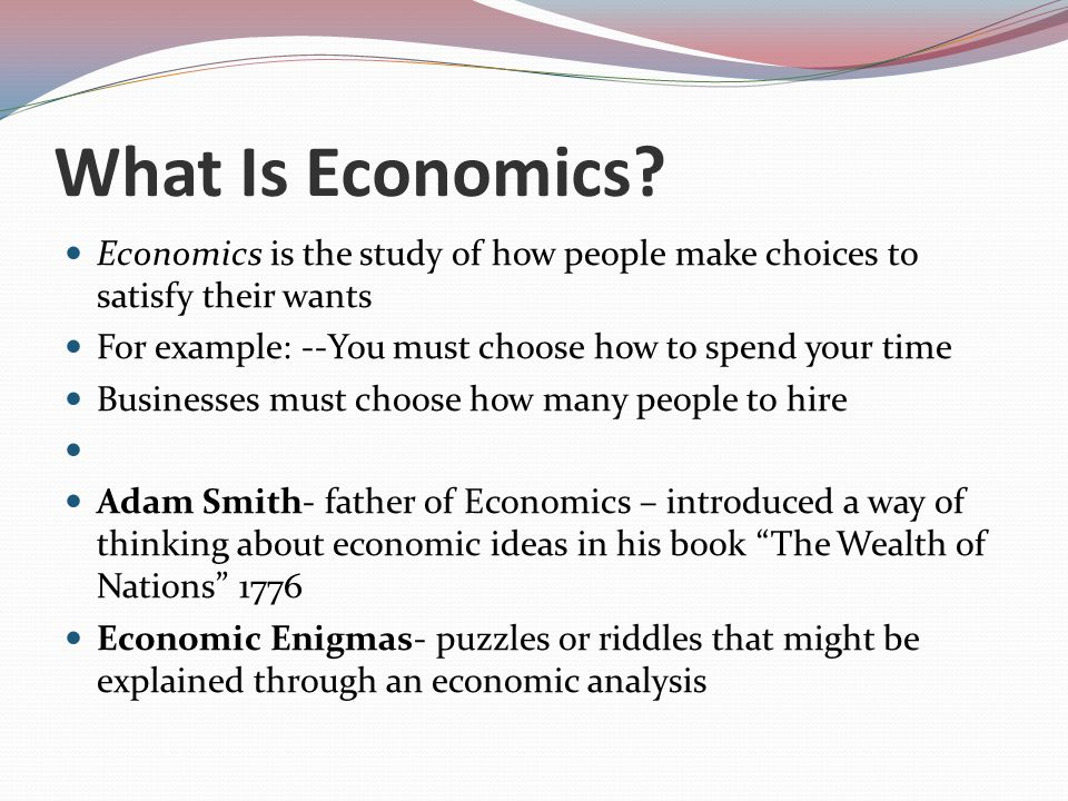 The Economic Fundamentals Ppt Video Online Download