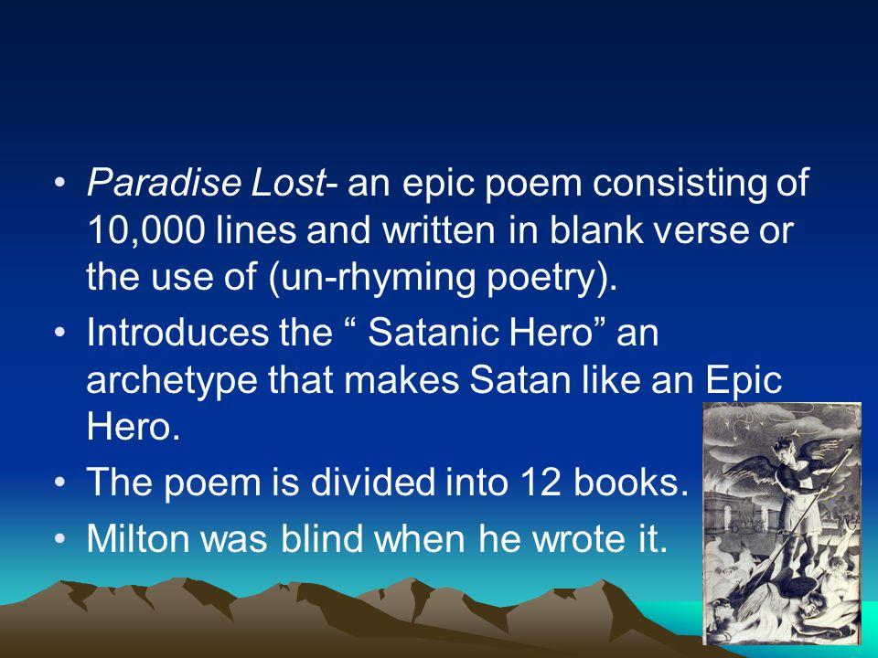 when was paradise lost written