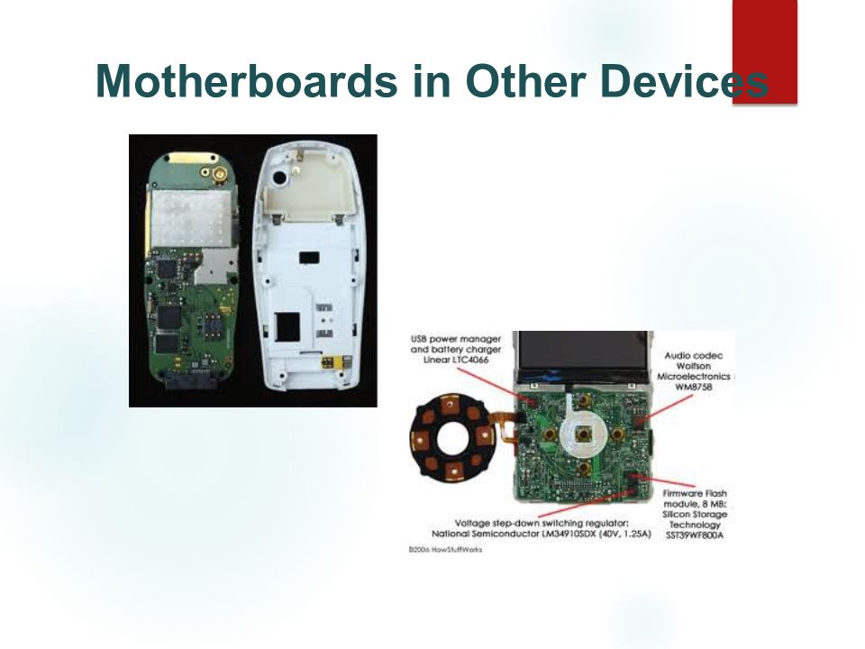 Motherboards in Other Devices