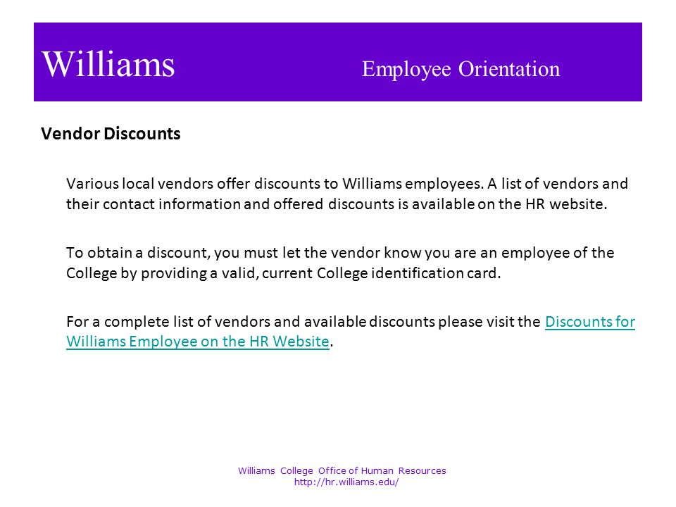 Welcome to Williams College - ppt download