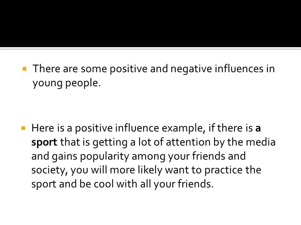 negative media influence on society