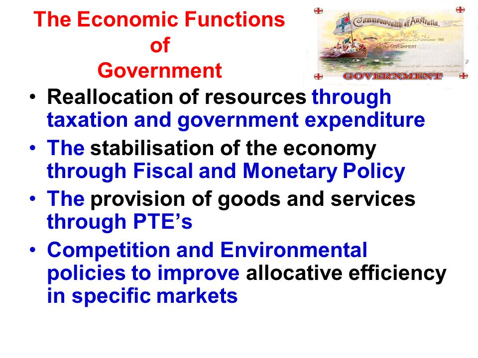 functions of taxation in an economy