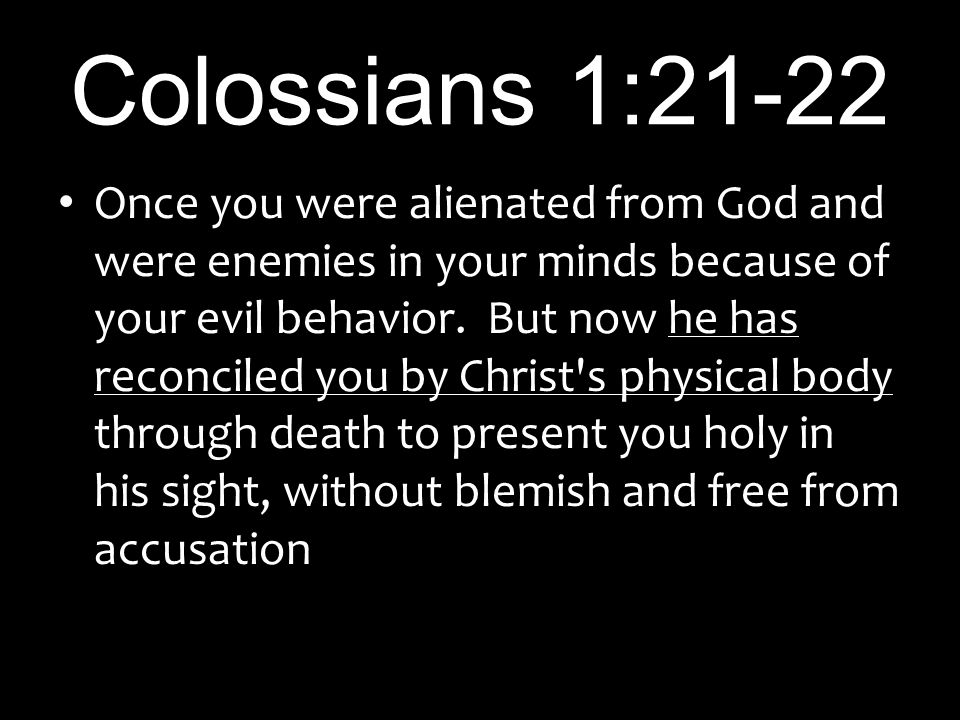 Image result for colossians 1:21-22