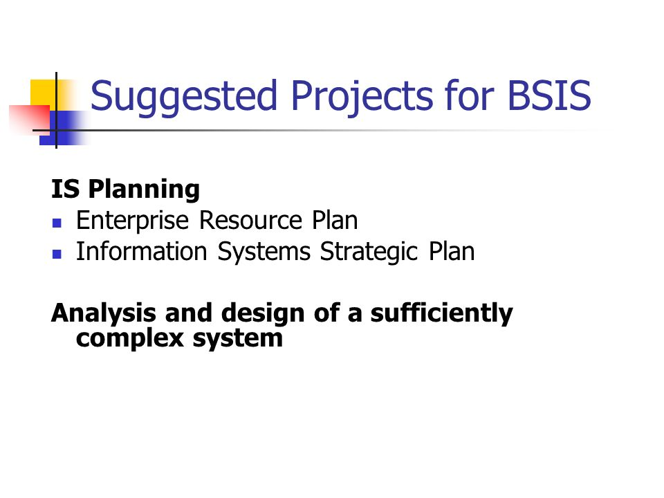 capstone project bsis