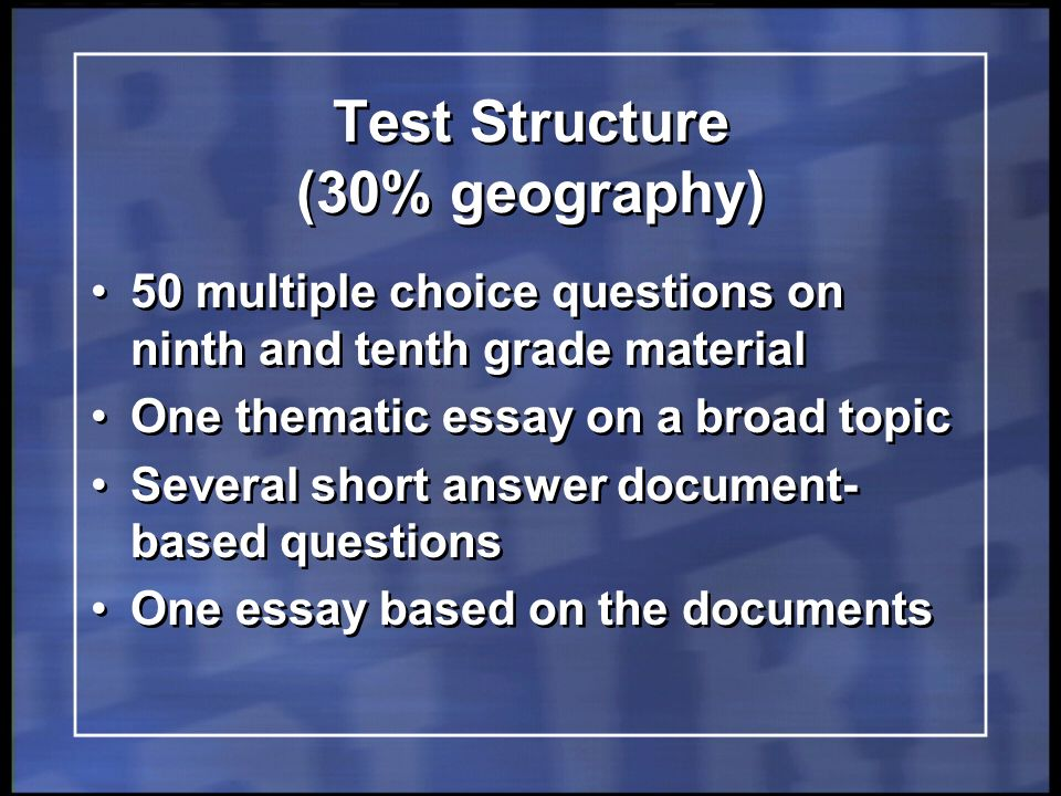 Write my geography dissertation hypothesis