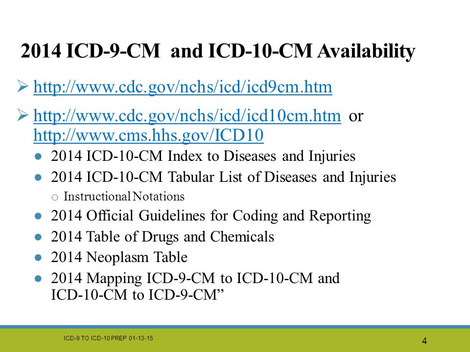 Icd 9 Cm To Icd 10 Cm Prep Ppt Download