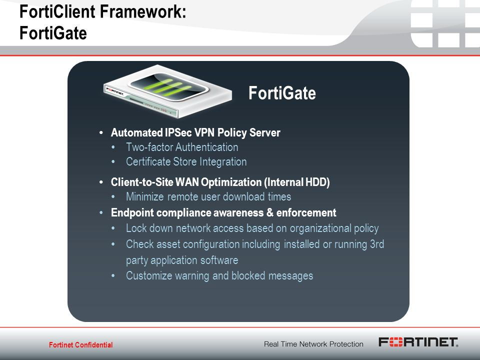 Forticlient Solutions Endpoint Security Anytime Anywhere Ppt Download