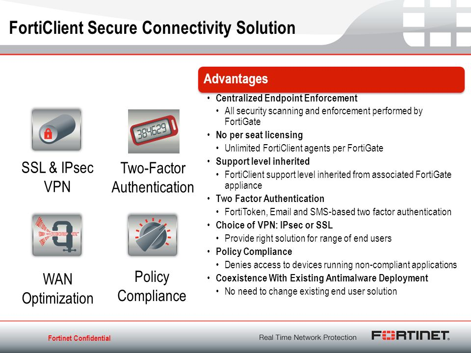 FortiClient Solutions Endpoint Security Anytime, Anywhere - ppt download