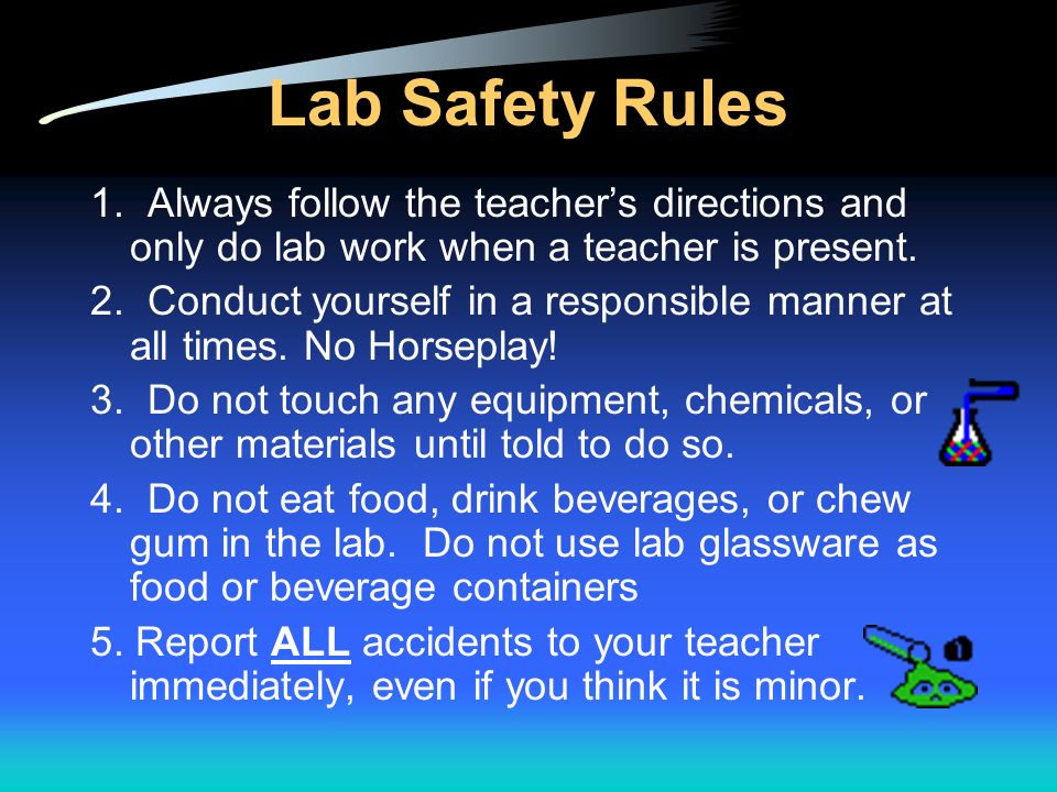 School safety and security.