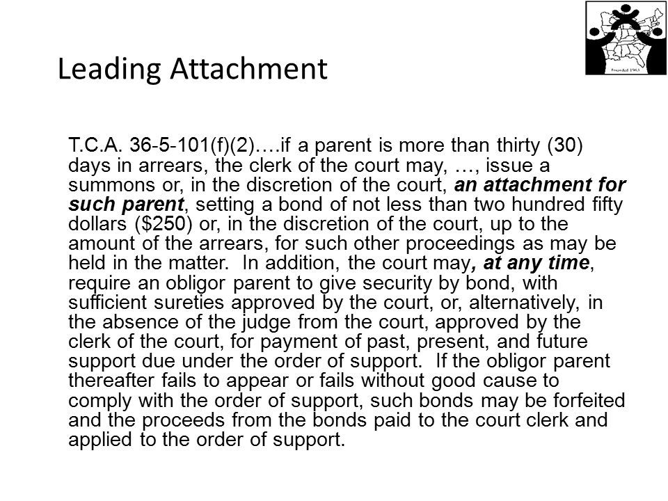 Leading Attachment