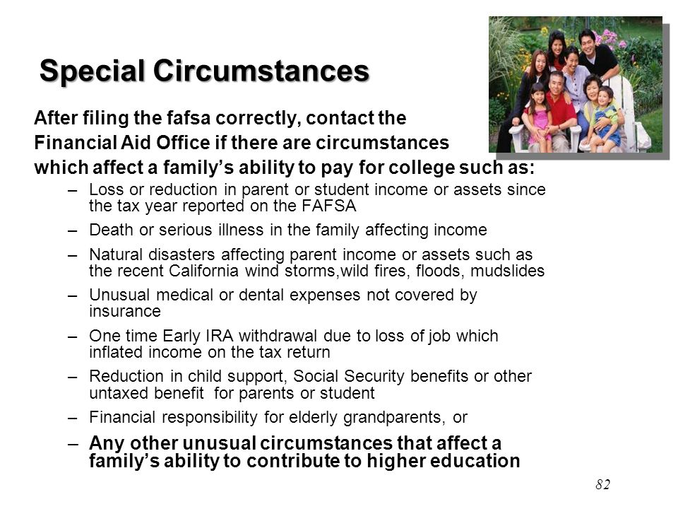 special circumstances financial aid letter example awesome special circumstances financial aid letter example 24936 | Special Circumstances