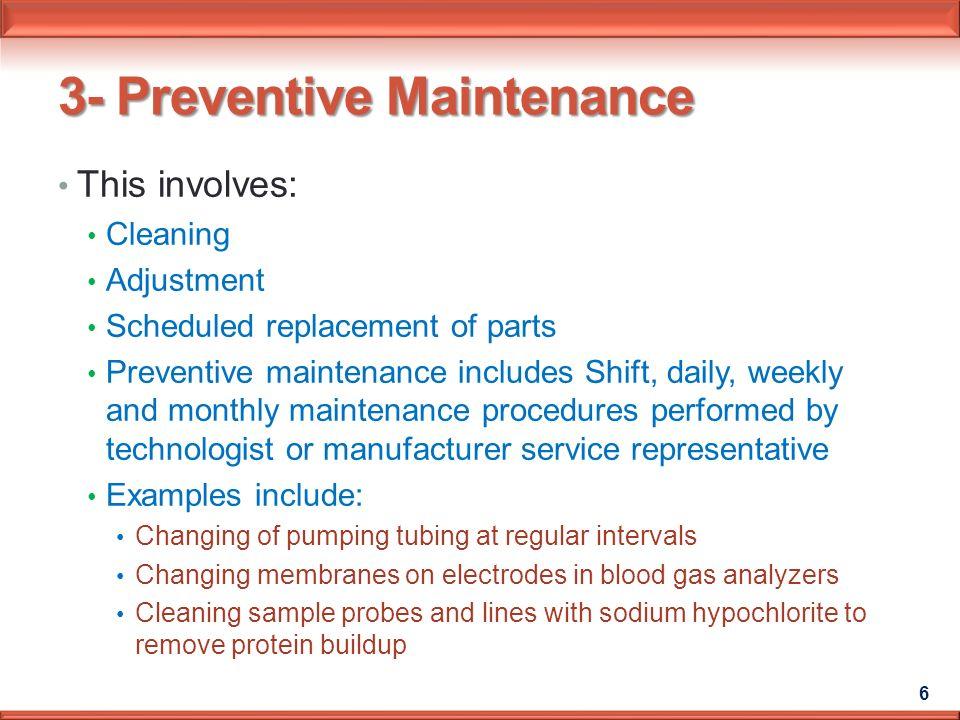 Instrument Maintenance - ppt download