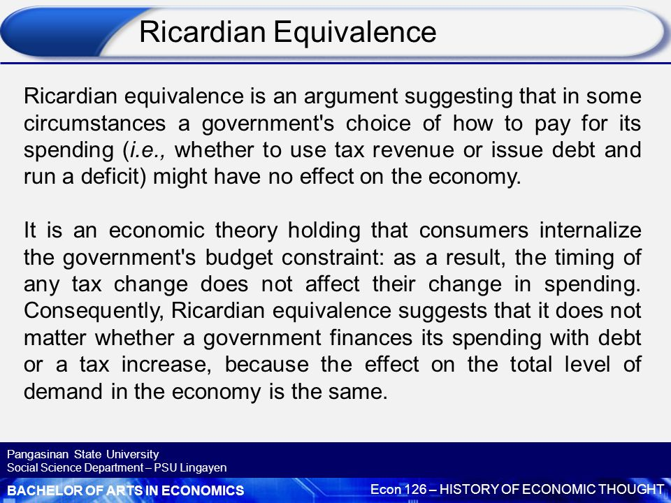 outline and explain the ricardian equivalence theorem 250000 free outline for school shootings papers & outline for school shootings essays at #1 essays bank since 1998  outline and explain the ricardian equivalence.