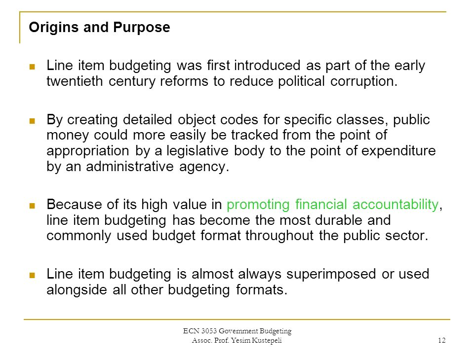 functions of the budget budget theories formats i ppt download