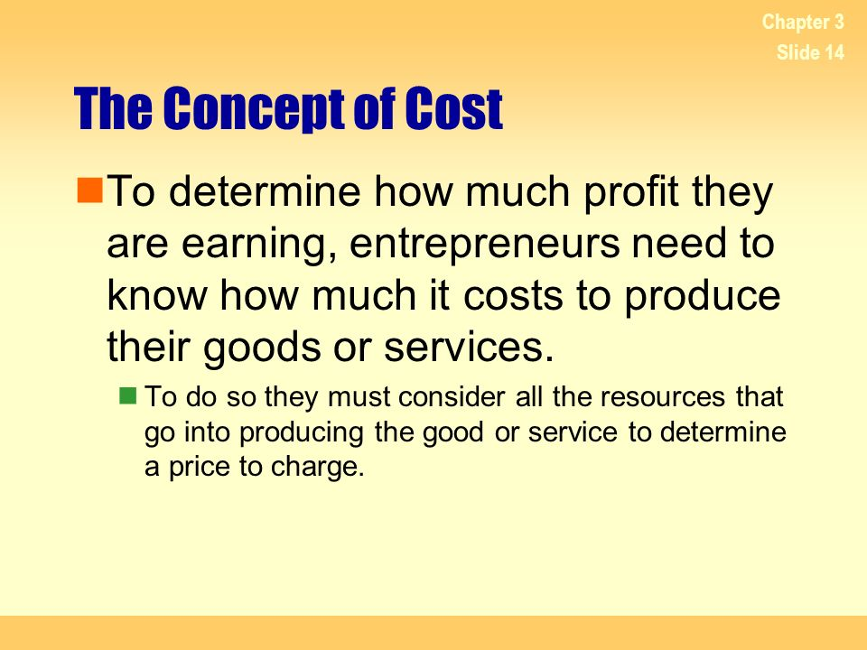 4/20/2017 Chapter 3. The Concept of Cost.