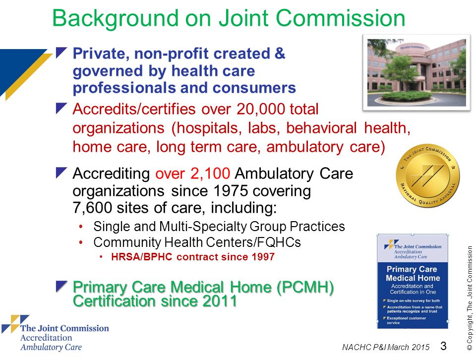 joint commission history Quality report print page share  cms recognized programs deemed programs advanced certification programs view certification history core certification programs view certification history sites special quality awards due to our commitment to accurate data reporting, the joint commission is suspending the practice of updating special.