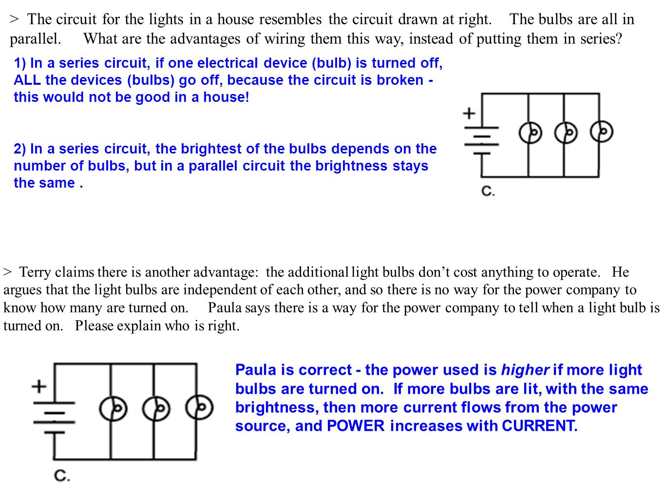 Todays Outcomes Sun And Moon Electricity Ppt Download Wiring A Parallel Circuit The For Lights In House Resembles Drawn At Right