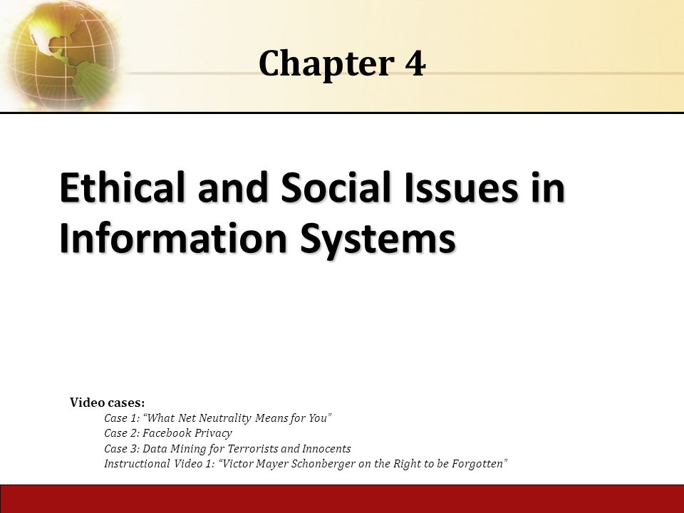 legal ethical and social issues on information systems Information system has lot of social issues same as any other issues the unethical behavior of people creates several social problems it has a great impact on the culture spreading of vulgar activities have increases in largely and people are more prone to sex and other activities like video chats.