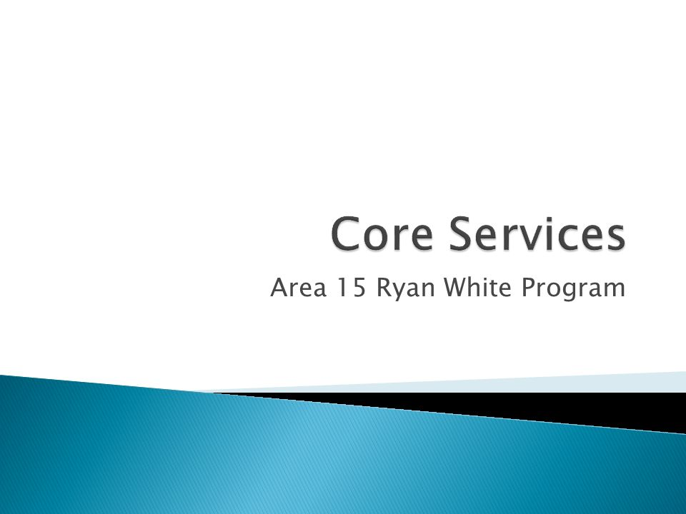 Area 15 Ryan White Program