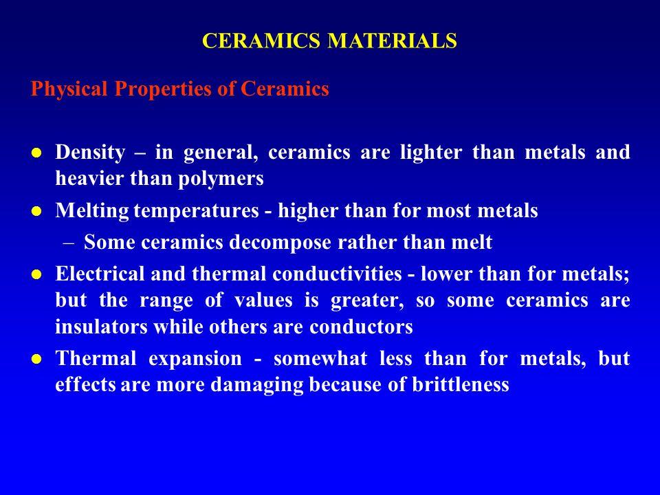 Alumina Ceramics Physical Properties