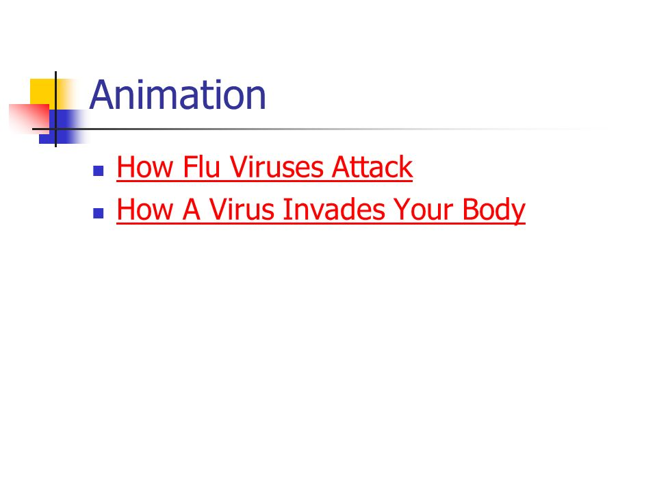 Animation How Flu Viruses Attack How A Virus Invades Your Body