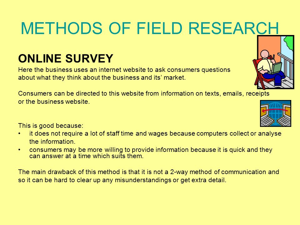 METHODS OF FIELD RESEARCH