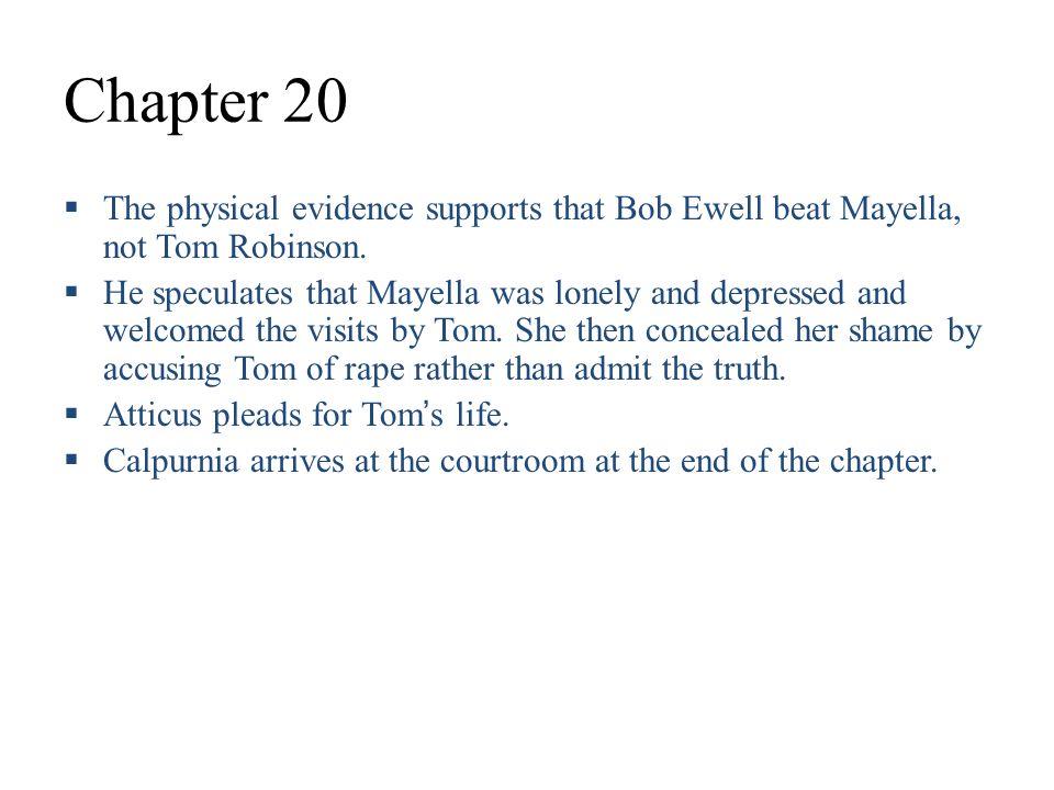 physical description of tom robinson