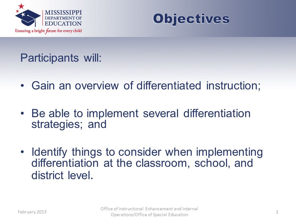 Differentiated Instruction Whats Different About That Ppt Download