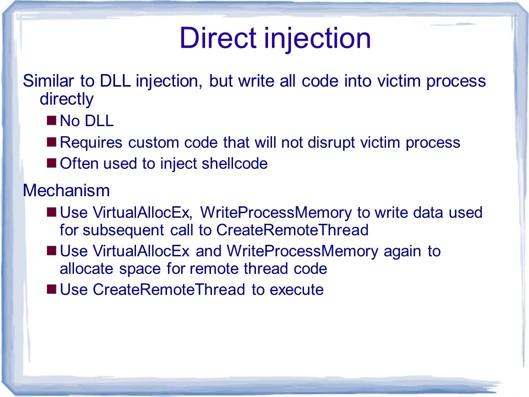 Part 4: Malware Functionality - ppt download