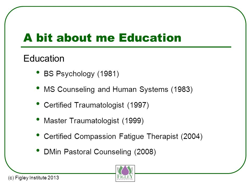 Compassion Fatigue Educator Certification Course - ppt video online ...