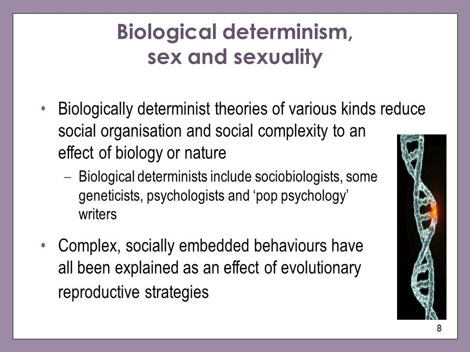 Biological meaning of sexuality