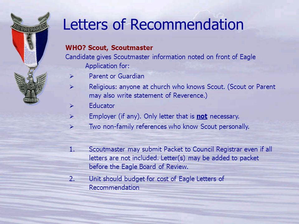 The Life to Eagle Process ppt