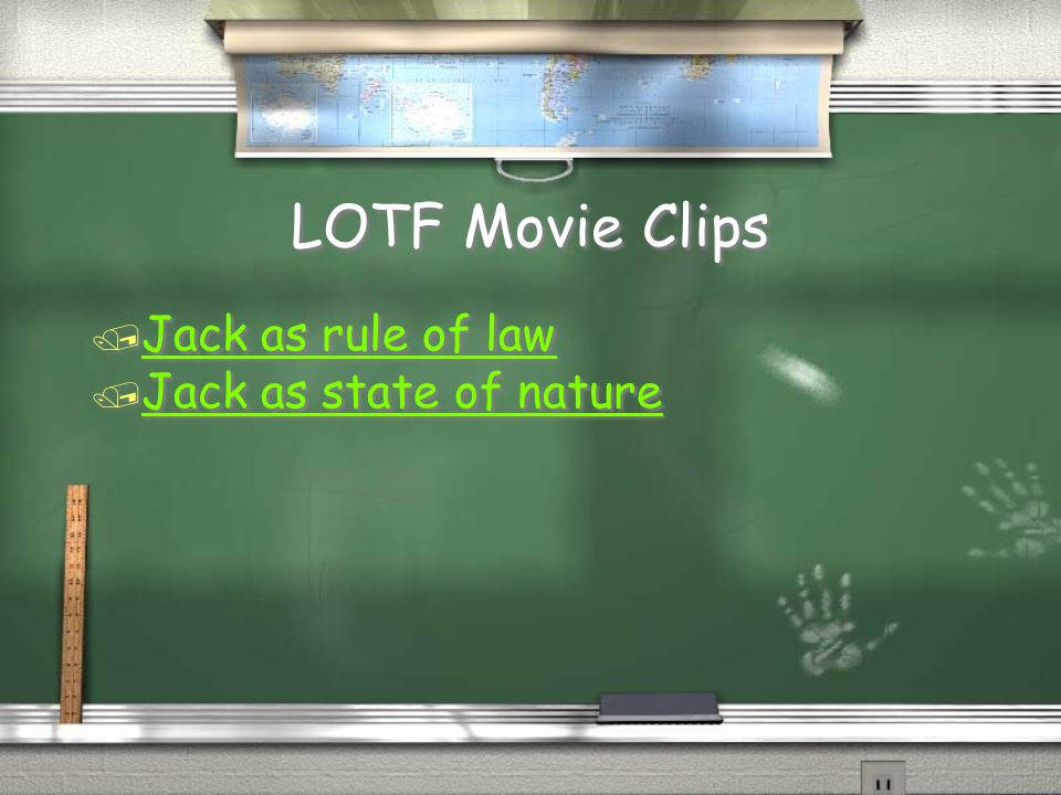 LOTF Movie Clips Jack as rule of law Jack as state of nature
