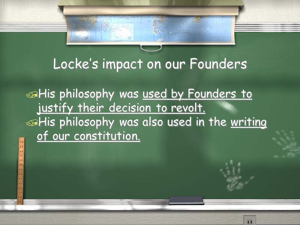 Locke's impact on our Founders