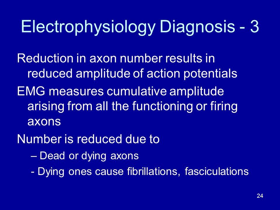 Electrophysiology Diagnosis - 3