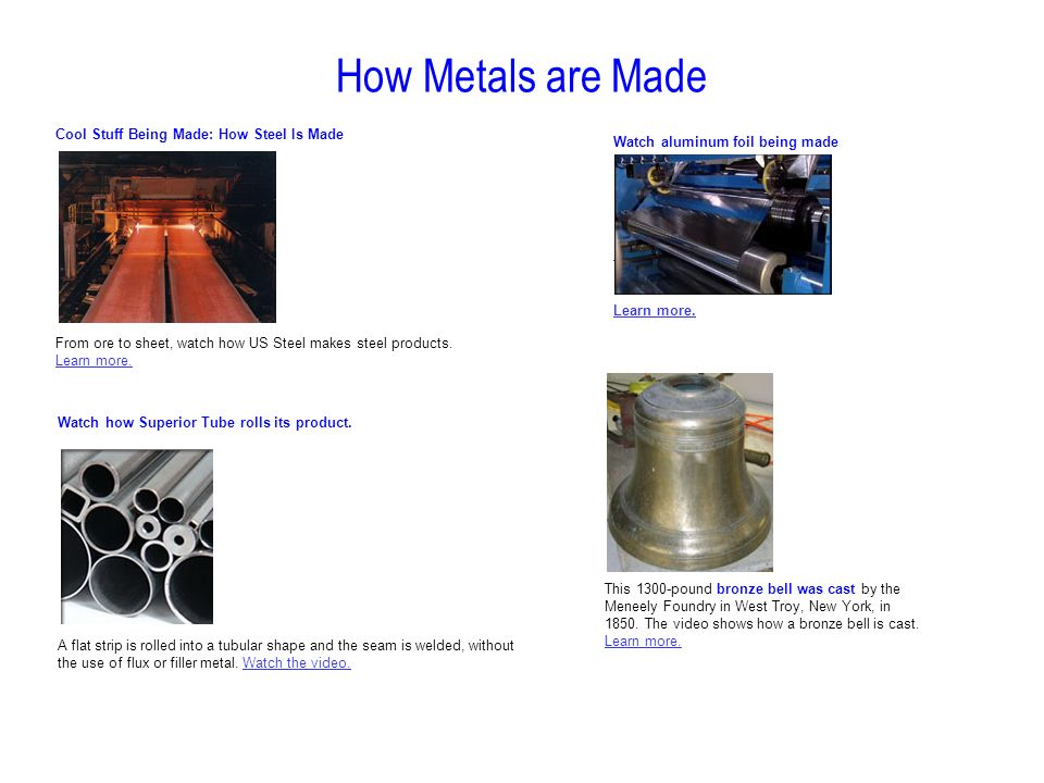 Metals Processing Chapter 14 Ppt Download